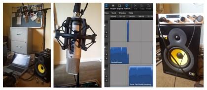 Collage of audio equipment / Copyright FOTW Audio Productions, 2016