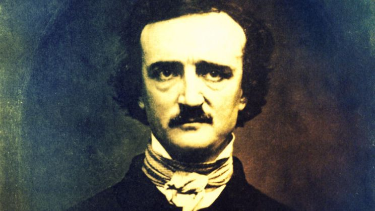 Portrait of American Author Edgar Allan Poe