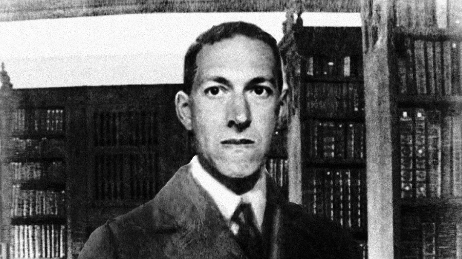 Photograph of American writer H. P. Lovecraft