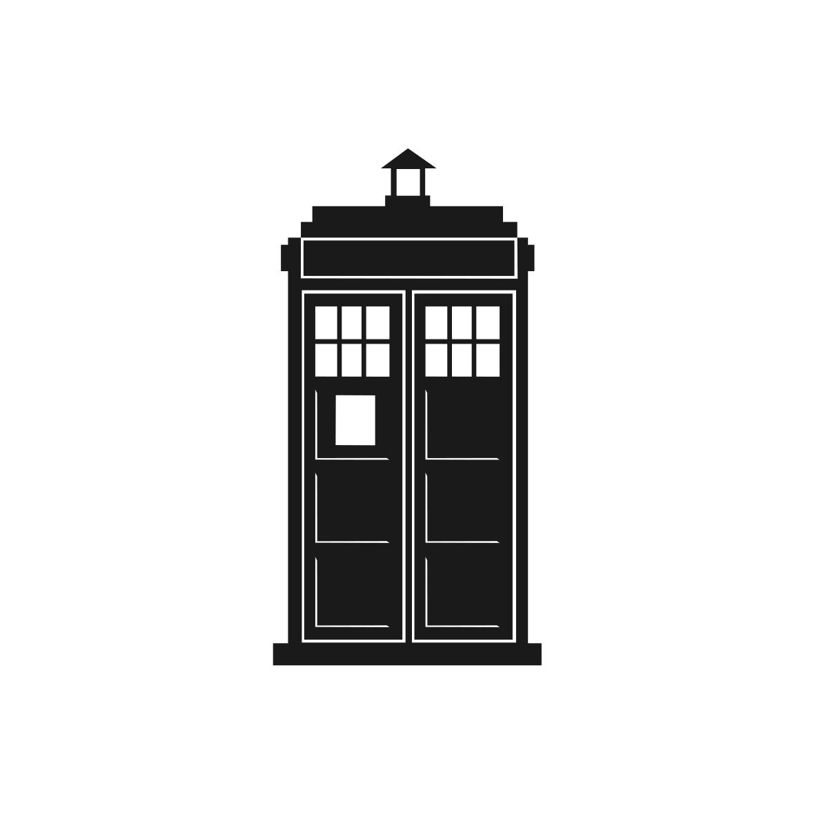 Icon of a TARDIS