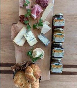 Cheese, Charcuterie, Salad