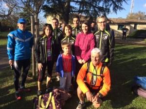 Trail de Bouliac du 06 Décembre 2014