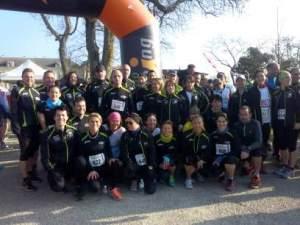 11 et 21 Km du Rotary à St Emilion le 13 Mars 2016