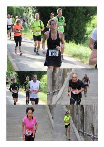 Trail de Bourg sur Gironde du 14 Juillet 2016