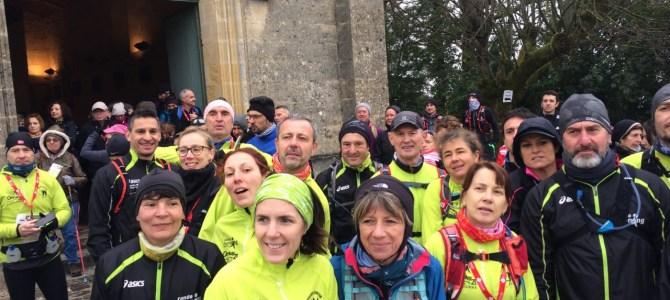 Course nature de Montagne St Emilion le Samedi 11 Février 2017