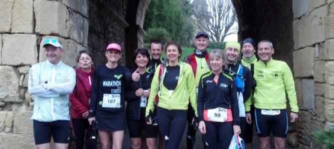 Marathon des Forts Excideuil le 19 Mars 2017
