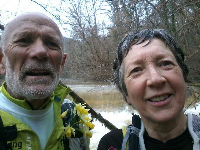 Trail de l'Auvézère du Dimanche 18 Février 2018