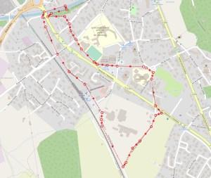 foulées de voreppe, parcours 3 km