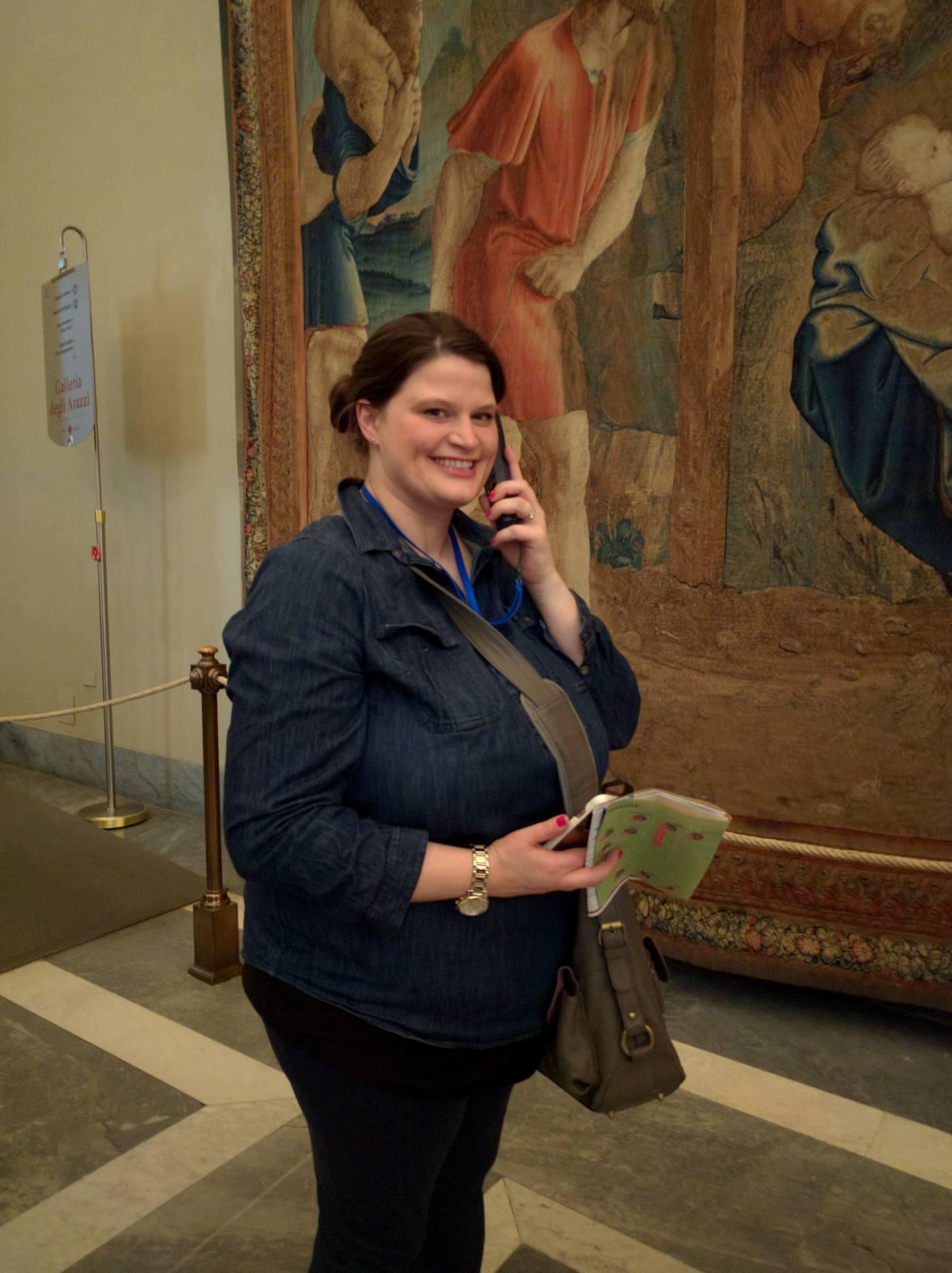 Audio Guide Shot-Vatican Museum
