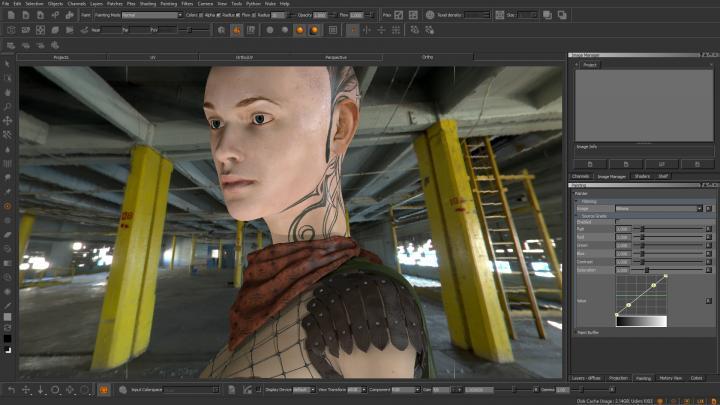 Mari's realistic interactive preview image