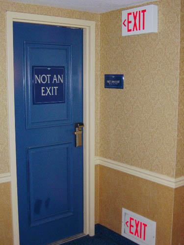Exit | Not An Exit