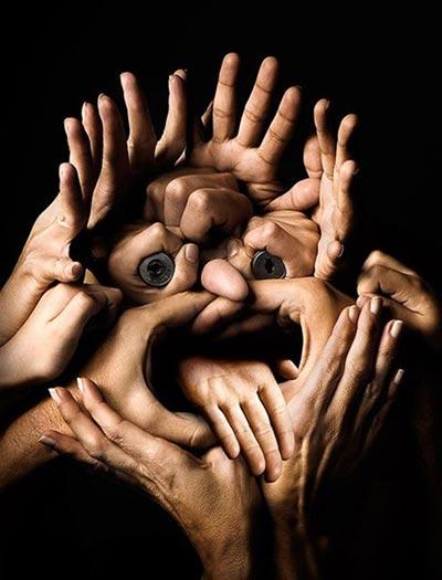 Hands Portrait