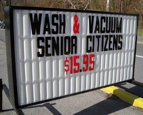 Wash & Vacuum Seniors