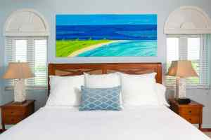 A comfy room at Anguilla luxury resorts