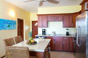 A perfect kitchen for creating great dishes in our vacation rentals Anguilla