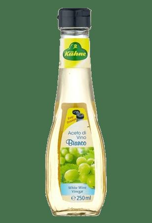 Уксус 6% из белого вина, KUHNE Aceto di vino bianco, 250 мл