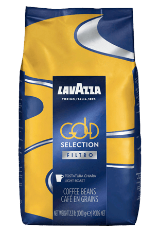 Lavazza Gold Selection Filtro, кофе в зернах, 1 кг