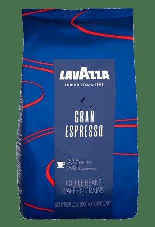 Lavazza Gran Espresso, кофе в зернах, 1 кг