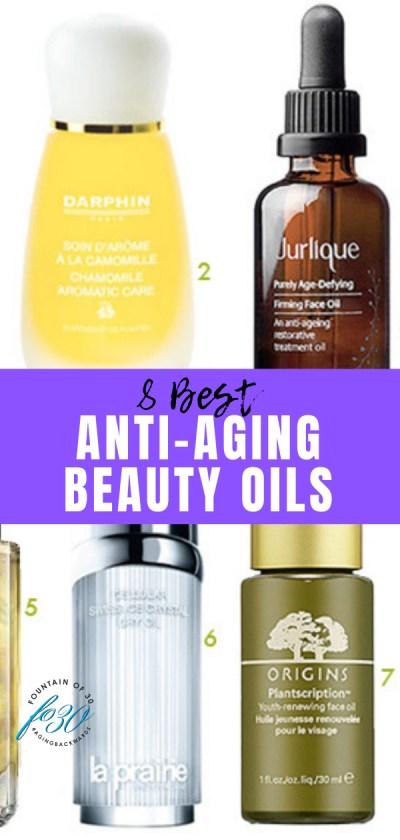 8 best anti-aging beauty oils