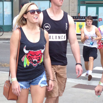 Lollapalooza Fashion Style, Chicago sporty