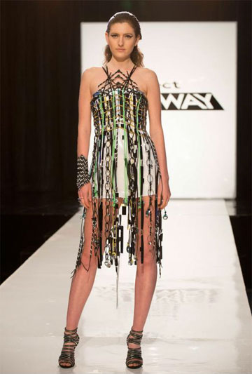 Project Runway 13 episode 2, Amanda Winner