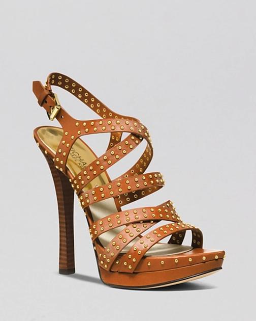 MICHAEL Michael Kors Open Toe Platform Sandals - Arianna High Heel - $250---> $150 - Bloomingdale's