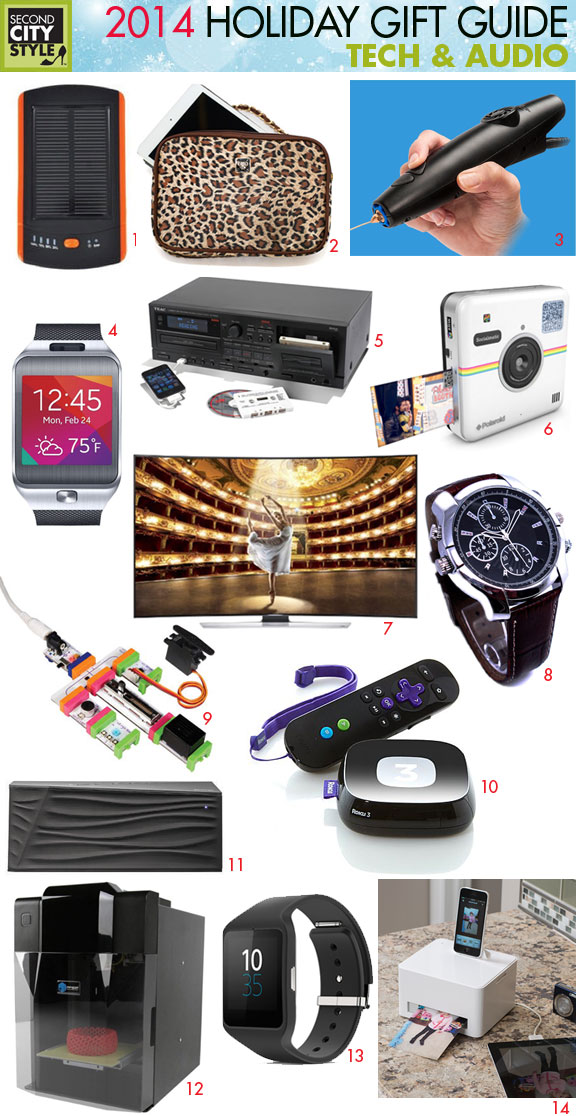 Holiday Gift Guide 2014 Tech & Audio