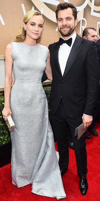 Joshua Jackson &  Diane Kruger in Emilia Wickstead