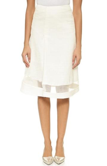 Sheer-skirt