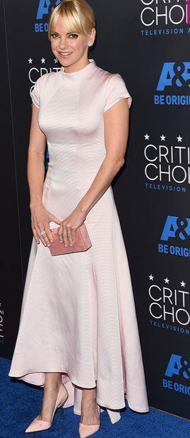 Anna Faris, Zac Posen, Critics's Choice Television Awards