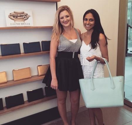 Second CIty Style Editor Jasmine Dunn and Dagne Dover Co-founder Deepa Gandhi