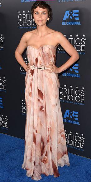 Maggie Gyllenhaal, Critics' Choice TV Awards, Alexander McQueen gown