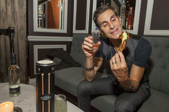 Perry Farrell Appetizers Lollapalooza Kick Off Nelcote 2015