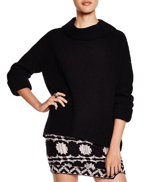 Free People Sidewinder Cowl Neck Pullover - $128 - Bloomingdale's