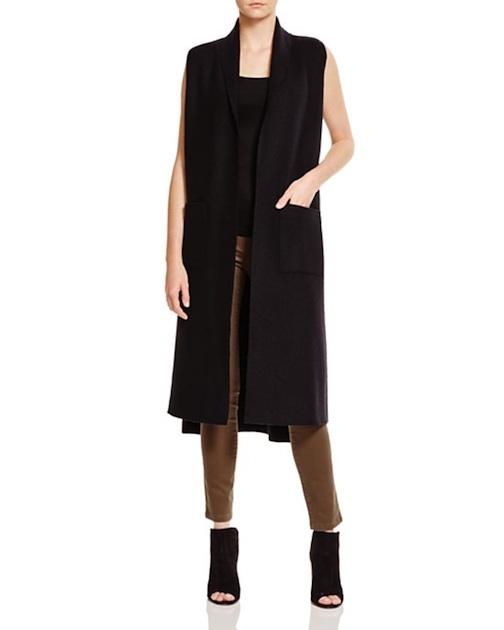 Long Wool Vest