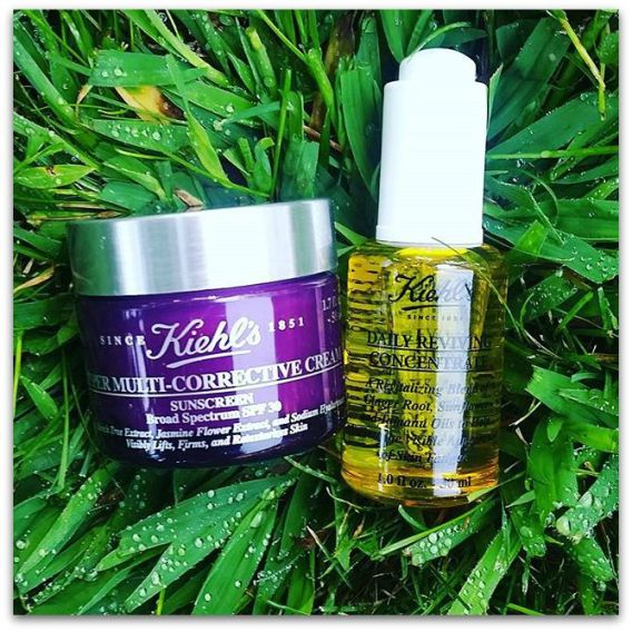 Kiehl's Daily Reviving Concentrate, Kiehl's Super Multi-Corrective Cream w/SPF