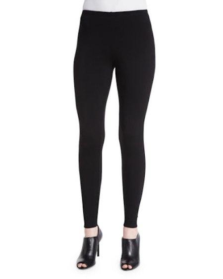 Eileen-Fisher-Stretch-Black-Leggings