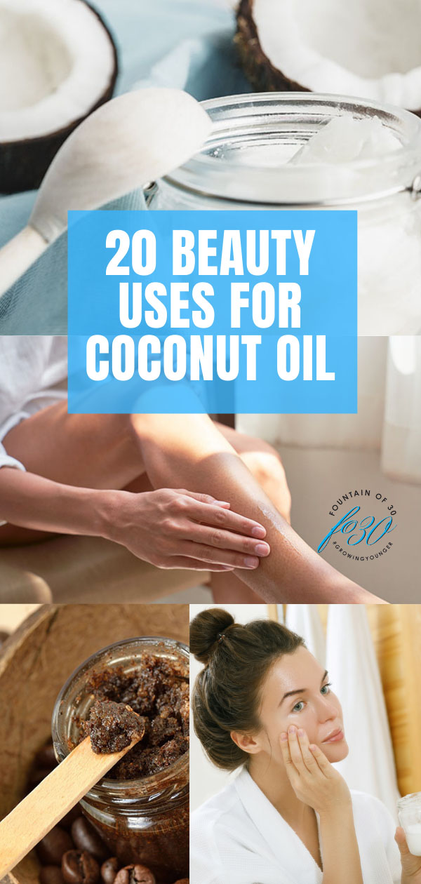 20 uses for coconut oil fountianof30