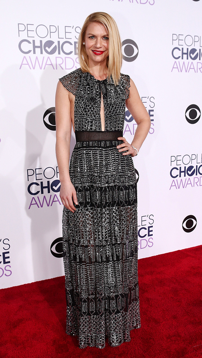 Claire Danes at the People's Choice Awards 2016