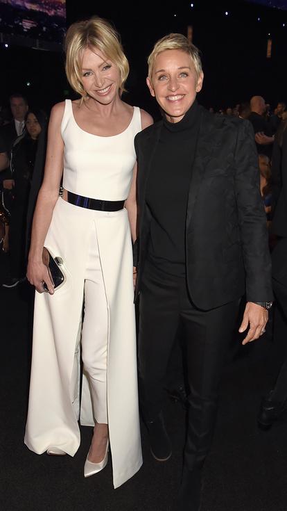 Portia de Rossi in Safiyaa & Ellen de Generes