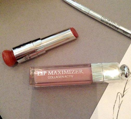 Dior 'Addict' Lip Maximizer And Lipstick 722