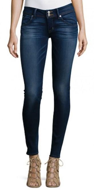 Stretch Skinny Jeans Hudson Blue Gold