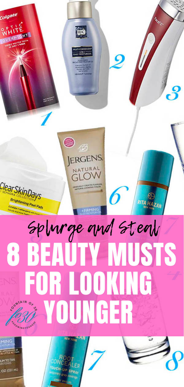 beauty products look younger fountainof30