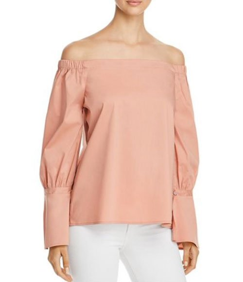 off the shoulder top trend long sleeves fountainof30