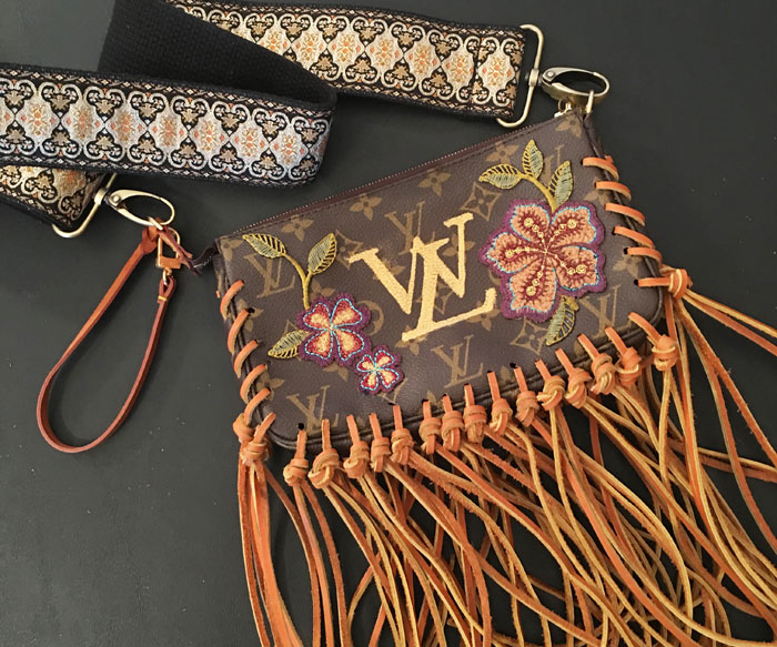 DIY: Turn Your Old Dusty Designer Handbag Into Something You're Proud To Carry