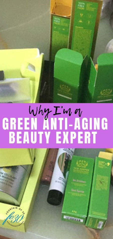 green anti-aging beauty expert