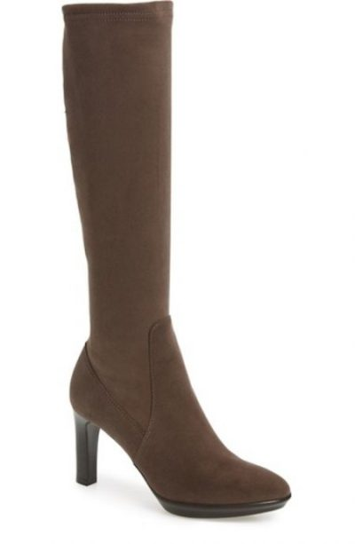 taupe-knee-high-suede-boots-waterproof