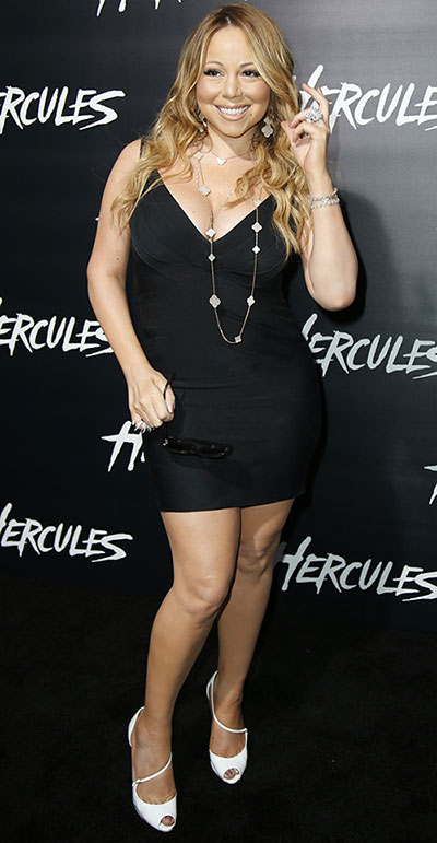 10 fashion mistakes that make you look older too much skin mariah carey short black slip dress