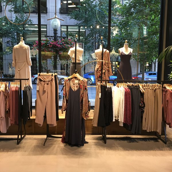 Aritzia 900 North Michigan Shops flagship store