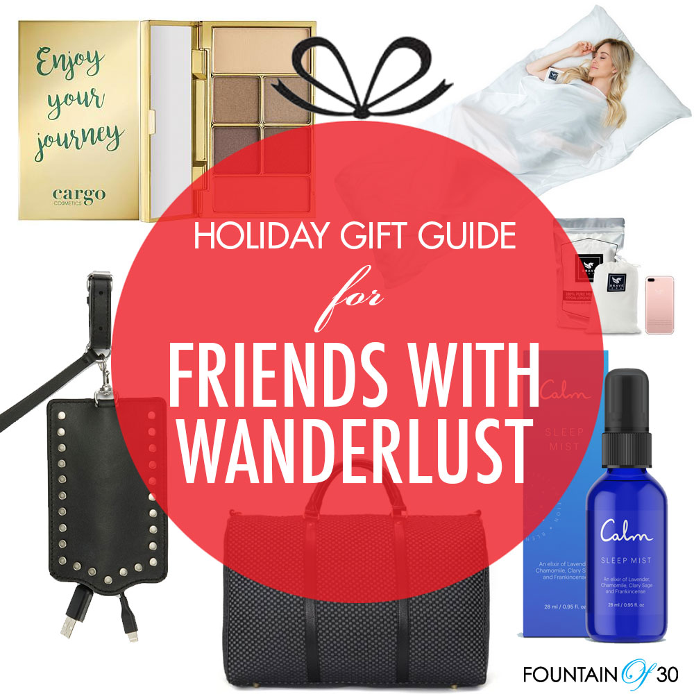 gift ideas for friends with wanderlust